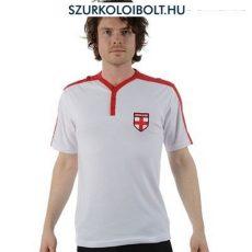 Y-nyakú angol póló (címeres, férfi)