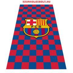 """FC Barcelona törölköző """"kockás"""" -  liszenszelt szurkolói termék !!!"""