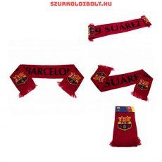 FCB Barcelona Suarez sál csíkos -   hivatalos szurkolói sál (kétoldalas)