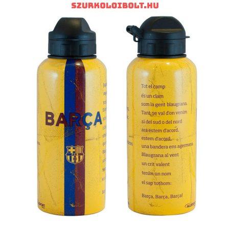 Barcelona Messi aluminium kulacs / termosz (hivatalos,hologramos klubtermék)