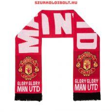 """Manchester United sál """"Glory, Glory"""" - eredeti, hologramos szurkolói sál"""