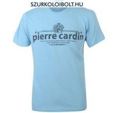 Pierre Cardin póló (világoskék, feliratos)