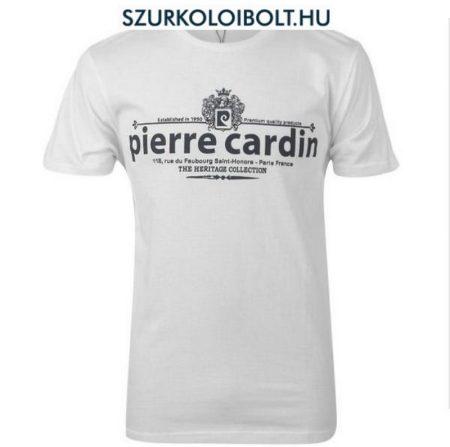 Pierre Cardin póló (fehér, feliratos)