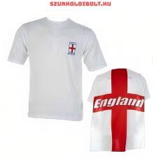 England Rulez gyerek póló tépőzáras zászlóval (fehér)