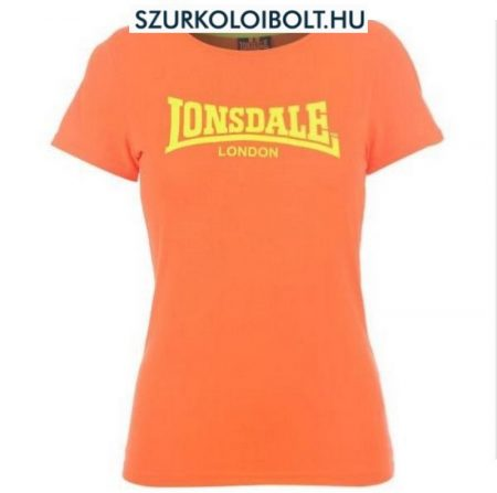 Lonsdale Leara - Lonsdale női póló (narancsvörös)