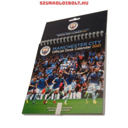 Manchester City asztali naptár, a legnagyobb sztárokkal és sikerekkel