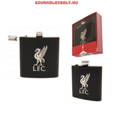 Liverpool flaska (fekete)- tökéletes szurkolói ajándék
