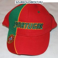 Portugalia Baseball Cap - piros baseballsapka Portugal felirattal (portugál válogatott)