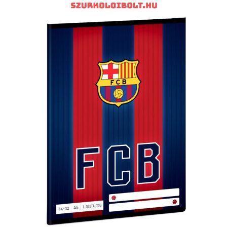 FC Barcelona vonalas A/5-ös füzet  (1. osztályos 1432)