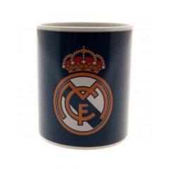 Real Madrid bögre (hőre jelenik meg színesben a logó)  kivitel - hivatalos klubtermék
