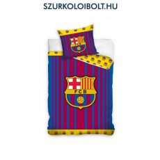 Barcelona szurkolói ágynemű garnitúra / szett (sötétkék, csíkos) - FCB - eredeti szurkolói termék, hivatalos klubtermék