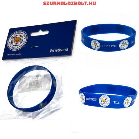 Leicester City csuklópánt / karkötő - eredeti szurkolói termék