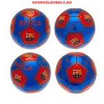 """FC Barcelona """"Silver Signature"""" szurkolói labda -  a csapat tagjainak aláírásával, hivatalos FC Barelona ajándék"""
