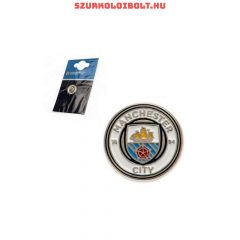 Manchester City kitűző / jelvény / nyakkendőtű (címer) eredeti klubtermék!!!