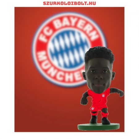 Bayern München Davies SoccerStarz figura a csapat hivatalos mezében