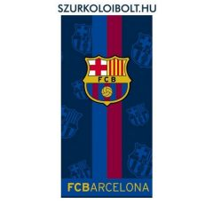 """FC Barcelona törölköző """"csíkos"""" -  liszenszelt szurkolói termék !!!"""