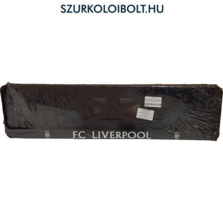 Liverpool rendszámtábla tartó (2 db) - eredeti, hivatalos klubtermék
