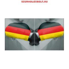 Németország tükörzászló, 2 db-os szett.