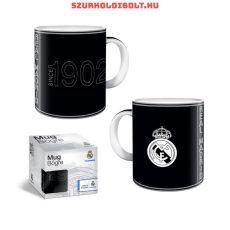 Real Madrid bögre - hivatalos klubtermék (fekete)
