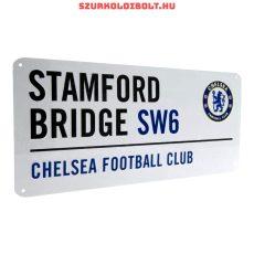 Chelsea Fc utcanévtábla - eredeti, hivatalos klubtermék