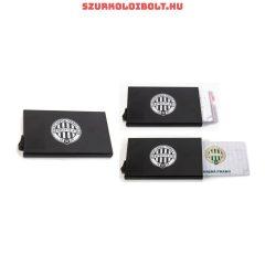 Ferencváros fém kártyatartó - tökéletes szurkolói ajándék, lopásgátló (RFID) technológiával