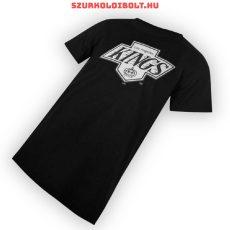 Majestic NHL Los Angeles Kings hivatalos gyerek póló - eredeti klubtermék (fekete)