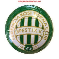 Ferencváros labda - (1-es méretű) Ferencváros  címeres kis focilabda (zöld)