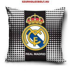 Real Madrid kispárna huzat - eredeti, hivatalos klubtermék! (fekete-fehér)