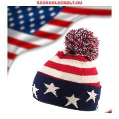 USA sapka (piros, kék) a csapat zászló dizájnjával, szurkolói ajándék!