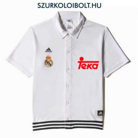 Adidas Real Madrid hivatalos szurkolói mez (patentos) - eredeti klubtermék