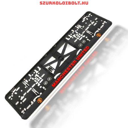 Manchester United rendszámtábla tartó (2 db) - eredeti, hivatalos klubtermék