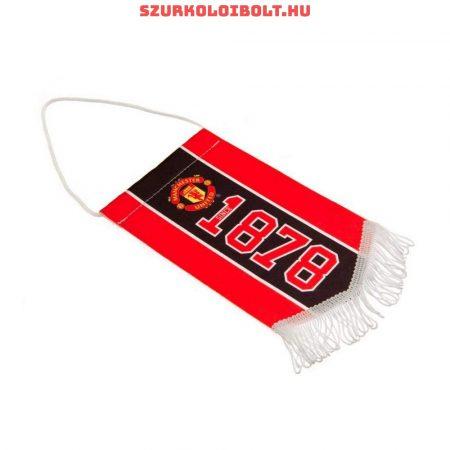 """Manchester United """"logo"""" autós zászló (eredeti, hivatalos klubtermék)"""