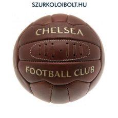 Chelsea labda - normál (5-ös méretű) Chelsea címeres szurkolói retro bőr focilabda