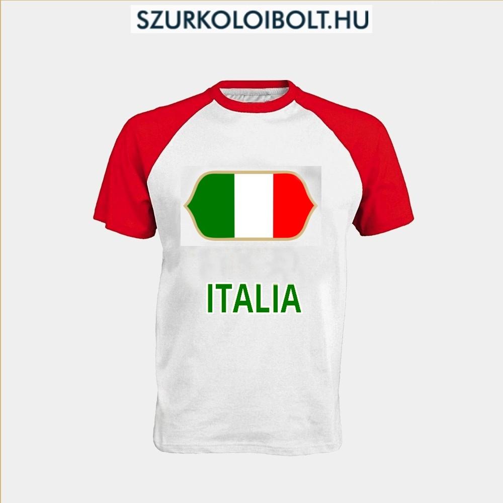 Olasz póló - Olasz szurkolói póló - Eredeti termékek szurkolói ... 9ca2df2627