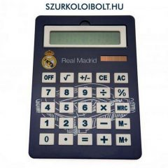 Real Madrid nagyméretű asztali számológép (eredeti, hivatalos klubtermék)