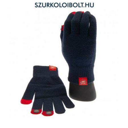 Arsenal FC kötött kesztyű (kék) - hivatalos szurkolói termék