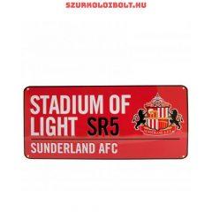 Sunderland AFC utcanévtábla - eredeti, hivatalos klubtermék