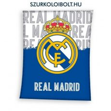 Real Madrid pihe-puha óriás takaró (fehér-kék) - eredeti, hivatalos szurkolói ajándéktárgy