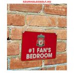 Liverpool FC szurkoló a fedélzeten tábla - eredeti, hivatalos klubtermék