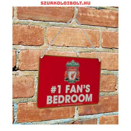 Liverpool FC elsőszámú szurkoló tábla - eredeti, hivatalos klubtermék