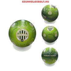 Ferencváros labda - normál (5-ös méretű) Ferencváros  címeres szurkolói focilabda