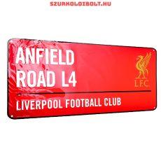 Liverpool FC utcanévtábla - eredeti, hivatalos klubtermék