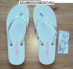 Miss Fiori Beach fehér flip-flop papucs