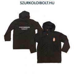 Hungary feliratos dzseki / kabát - magyar válogatott dzseki (fekete színben) kapucnis kivitelben