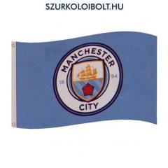 """Manchester City """"classic"""" óriás zászló (eredeti, hivatalos klubtermék)"""