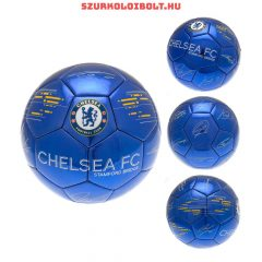 """Chelsea FC """"Signature"""" szurkolói labda - normál (5-ös méretű) Chelsea címeres focilabda a csapat tagjainak aláírásával"""