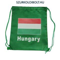 Magyarország zsinórtáska, tornazsák - eredeti, hivatalos klubtermék (zöld)