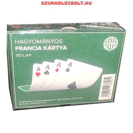 Ferencváros szurkolói kártya, römi kártya , eredeti FTC hivatalos klubtermék. (dupla pakli)
