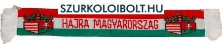 Hungary kétoldalas kötött autós sál tapadókoronggal ( magyar válogatott szurkolói sál) Hajrá Magyarország!