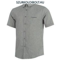 Pierre Cardin ing - szürke, csíkos rövidujjú ing